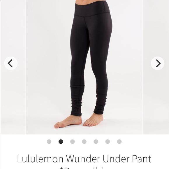 4d31593e357059 lululemon athletica Pants - 1-day sale! Full length reversible Lululemon
